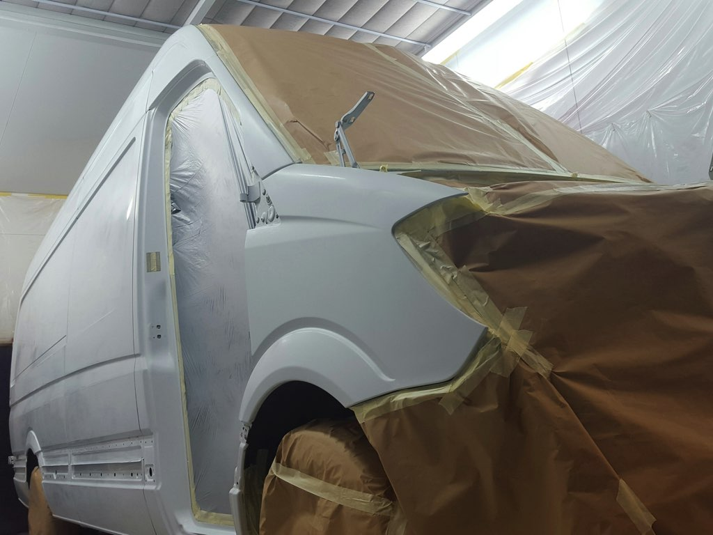 Mercedes Sprinter LWB full respray